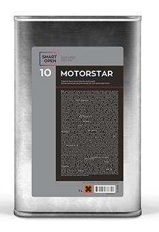 MOTORSTAR 10 - диэлектрический жидкий концентрат для мойки двигателя, 1л