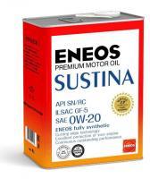 Масло моторное ENEOS SUSTINA SN Синтетика 0W20 4л