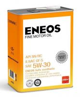 Моторное масло ENEOS FINE MOTOR OIL SN Синтетика 5W30 4л