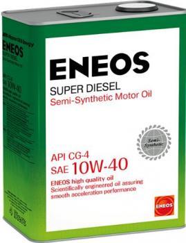 Масло моторное ENEOS 10w40 Super Diesel CG-4 п\синт 4л