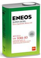 Масло моторное ENEOS 10W40  Super Diesel CG-4 п\синт 0,94л