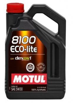 Моторное масло MOTUL  8100 Eco Lite 5w30, 4л