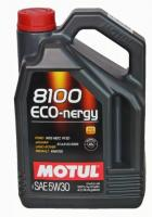Моторное масло MOTUL 8100 Eco nergy 5w 30 A5/B5, 4л