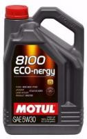 Моторное масло MOTUL 8100 Eco nergy 5w 30 A5/B5, 5л