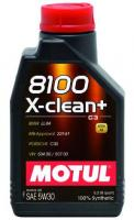 Моторное масло MOTUL  8100 X Clean+ 5w30 C3, 1л