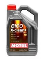 Моторное масло MOTUL 8100 X Clean+ 5w30, 5л
