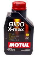 Моторное масло MOTUL 8100 X MAX 0w 40 A3/B4, 1л