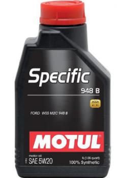 Моторное масло MOTUL Specific 948B 5W20, 1л