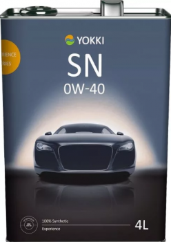 Моторное масло YOKKI SAE 0W40 Experience 4л