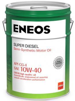 Моторное масло ENEOS Super Diesel CG-4 10w40, 20 л