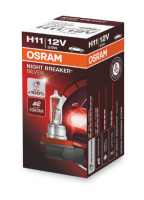 Автолампа OSRAM NIGHT BREAKER SILVER H11+ 100% (1 шт)