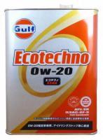 Моторное масло GULF Ecotechno GF-5 SN SAE 0W-20 (4л)