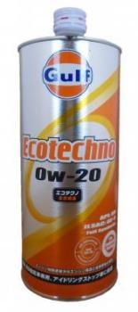Моторное масло GULF Ecotechno GF-5 SN SAE 0W-20 (1л)