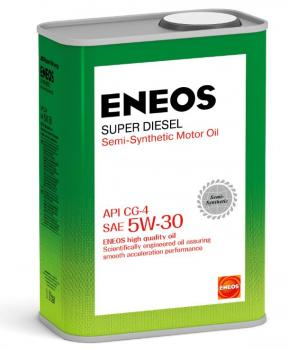 Масло моторное ENEOS 5W30 Super Diesel CG-4 п\синт  0,94л
