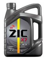 Моторное масло ZIC  5W-30  X7 LS, 6л