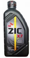 Моторное масло ZIC 5W-30  X7 LS , 1л