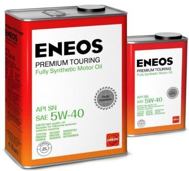 Масло моторное ENEOS Premium TOURING SN 5W40 акция 4+1л