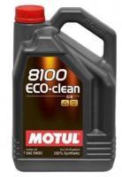 Моторное масло MOTUL 8100 Eco-clean 0W30, 5л