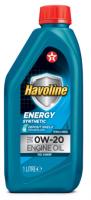 Моторное масло для легкового транспорта TEXACO HAVOLINE ENERGY 0W-20 1л