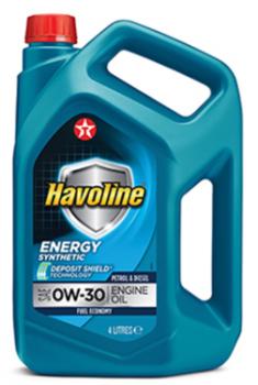 Масло для легкового транспорта TEXACO HAVOLINE ENERGY 0W-30 4л