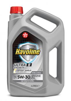 Моторное масло для легкового транспорта TEXACO HAVOLINE ULTRA R 5W-30 4л