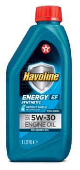 Масло для легкового транспорта TEXACO HAVOLINE ENERGY EF 5W-30 1л