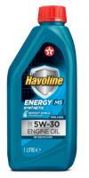 Синтетическое моторное масло TEXACO HAVOLINE ENERGY MS 5W-30 1л