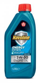 Моторное масло для легкового транспорта TEXACO HAVOLINE ENERGY 5W-30 1л