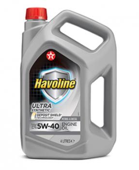 Моторное масло TEXACO HAVOLINE ULTRA 5W40 4л
