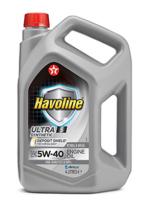 Моторное масло для легкового транспорта TEXACO HAVOLINE ULTRA S 5W-40 4л