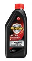 Моторное масло для легкового транспорта TEXACO HAVOLINE EXTRA 10W-40  1л