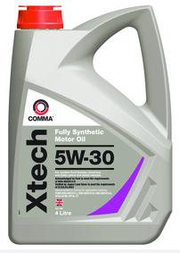 Моторное синтетическое масло  Xtech 5W-30 4л