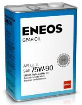 Трансмиссионное масло ENEOS GEAR GL-4 75W90 4л
