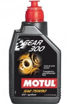 Масло трансмиссионное MOTUL  Gear 300 75W 90 GL-5 1л