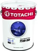 Трансмиссионное масло TOTACHI Super Hypoid Gear Oil GL-4 75W90 20л