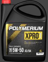 Моторное масло POLYMERIUM XPRO1 5W50 A3/B4 4L