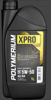 Моторное масло POLYMERIUM XPRO1 5W-50 A3/B4 1L