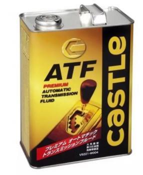 Трансмиссионное масло Castle Premium ATF 4л