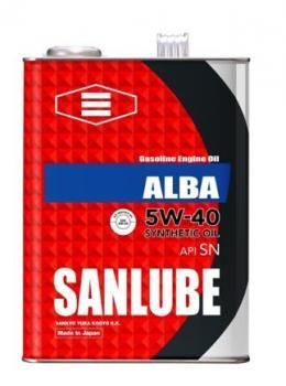 Масло моторное SANLUBE SYNTHETIC SN/GF-5 5W40 4л