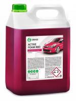 """Автошампунь для бесконтактной мойки """"GRASS"""" Active Foam Red (5,8 кг) (пена)"""