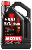 Масло моторное Motul 6100 SYN-Clean 5w40 4л