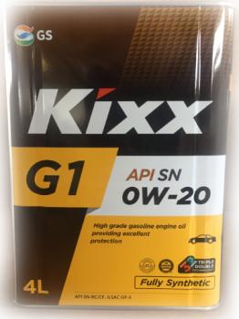 Моторное масло Kixx G1 SN 0W-20 (Neo) /4л