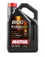 Масло моторное Motul 8100 X-clean EFE 5w30, 4л