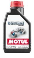 Масло моторное Motul Hybrid 0w12, 1л