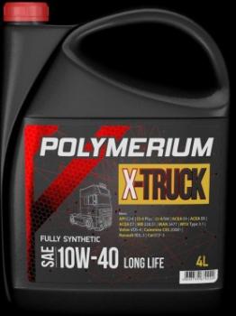 Моторное масло POLYMERIUM X-TRUCK 10W-40 E7/E6 4L
