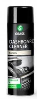 Полироль-очиститель Dashbord Cleaner 650мл (аэрозоль) Ваниль для пластика и наружных частей GraSS