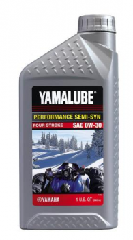 Моторное масло Yamalube 0W30, Semisynthetic Oil (0,946 л)