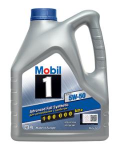 Моторное масло MOBIL 1 FS X1 5W50 4L