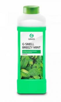 "Жидкая ароматизирующая добавка ""G-Smell Breezy Mint"" 1л"
