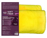 Салфетка из микрофибры  SOFT FIBER PLUSH для сушки автомобиля  60х80 580гр